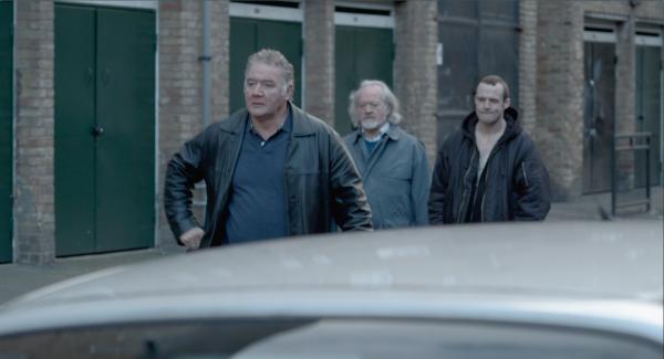 Sink -Martin Herdman as Micky, Ian Hogg as Sam and Joshua Herdman as Jason