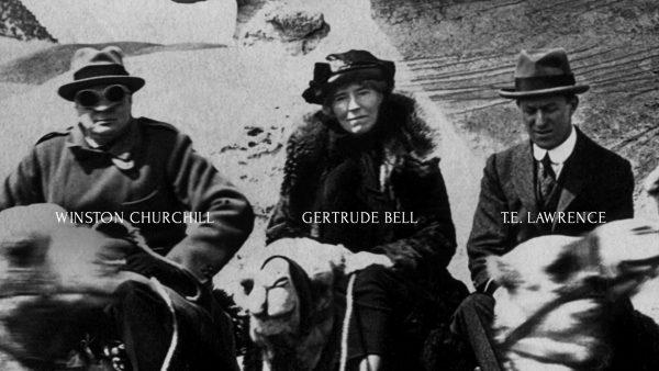 Gertrude-Bell-Winston-Churchill-T.E.Lawrence