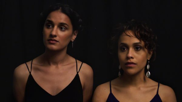 Hussina Raja and Tanya Fear in A Moving Image