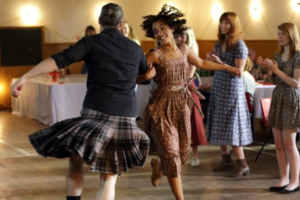 IONA 3 - Iona (Ruth Negga) dancing at the ceilidh
