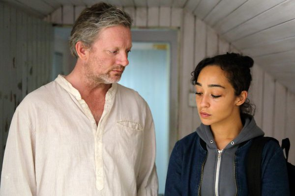 IONA 5 - Daniel (Douglas Henshall) shows Iona (Ruth Negga) the room
