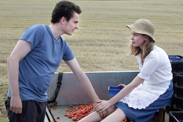 IONA 9 - Bull (Ben Gallagher) & Sarah (Sorcha Groundsell) at the strawberry fields