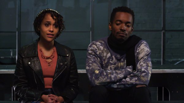 Tanya Fear and Aki Omoshaybi in A Moving Image