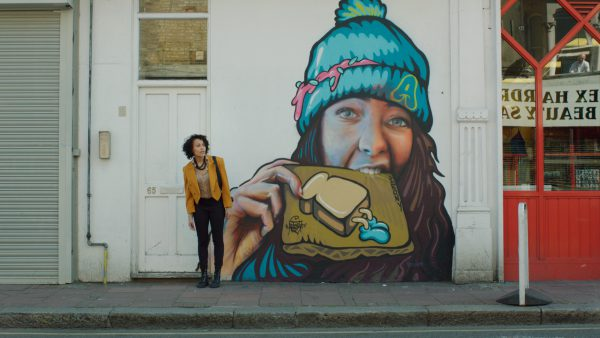 Tanya Fear in A Moving Image (mural)